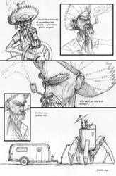 Page 1 of I Kill Robots by kurteinhaus
