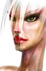 Quick face study by kurteinhaus