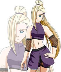 Naruto: Chuunin Ino (revised) by JayQC80