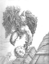 Hawkman by TheHeadache