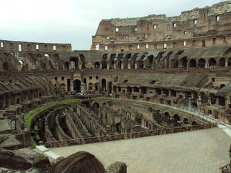 The Roman Colosseum by TheHexer