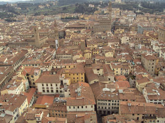 The Red Rooftops of Florence by TheHexer