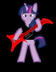 twilight sparkle guitarist 2 by hells-edge