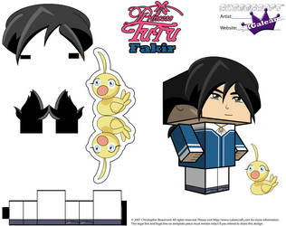 Cubeecraft of Fakir from Princess Tutu Part 2 by SKGaleana