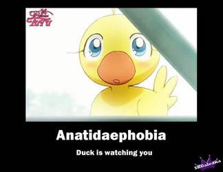 Anatidaephobia by SKGaleana