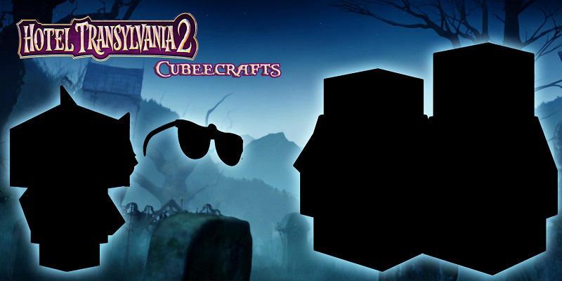 Hotel Transylvania 2 Cubeecraft poster by SKGaleana