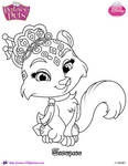 Snowpaws the Snow Leopard Palace Pet by SKGaleana