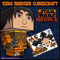 Star Wars Ezra Bridger Cubeecraft by SKGaleana