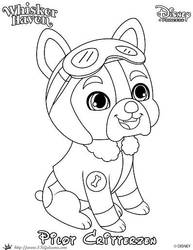 WH Pilot Princess Palace Pet Coloring Page by SKGaleana