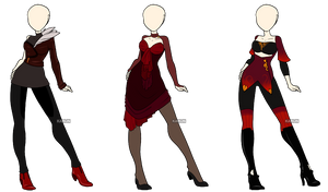 Fashion Adoptables 2 - CLOSED by Karijn-s-Basement