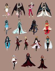 Fashion OCs by Karijn-s-Basement