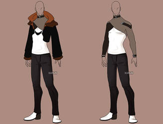 Fashion Adoptable 33 - OPEN by Karijn-s-Basement
