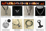 My Viking's Forge Website Now Open by GoodSpiritWolf