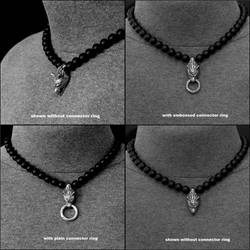 New Wolf Head Multipurpose Necklace Design by GoodSpiritWolf