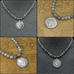 Lisa Parker Moonstruck Coin Labradorite Necklace by GoodSpiritWolf