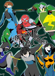 Heroic Chaos Chp2 Cover by ghost-nerdy