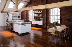Another Evermotion Kitchen by zipper