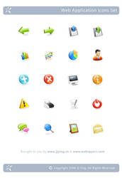 Web Application Icons Set by JJ-Ying