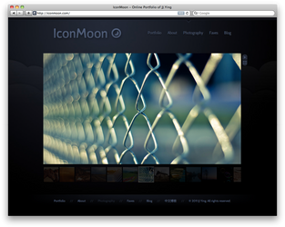 New Photography Section for IconMoon by JJ-Ying