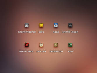 16px StarWars Icons by JJ-Ying
