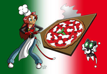 Pizza Time! by WildGirl91