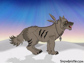Dire Wolf by Snowbristle