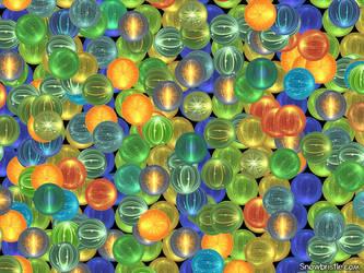 Fractal marbles by Snowbristle