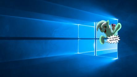 Windows 10 Lyra Wallapaper by Alexskleinewelt