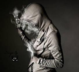 Smoke man by CAT-GIRL-Q8