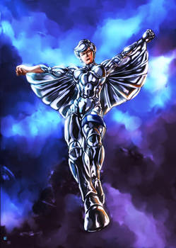 Silverhawk Steelheart by cric