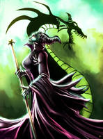 Maleficient by cric