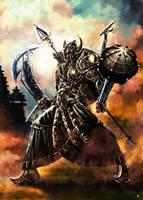 Ravaan,King of Alengka by cric