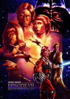 Star Wars Episode 7 Poster by cric