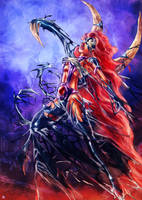 Starfire symbiote by cric