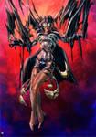 Zatana symbiote by cric