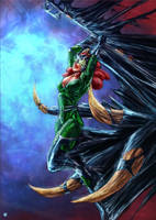 Queen Mera symbiote by cric
