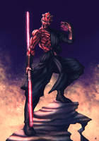 Darth Maul by cric