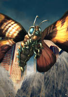 Mothra by cric