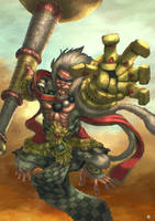 Hanuman by cric