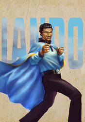 Lando Calrissian by cric