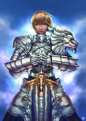 Saber heavy armor by cric