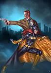 Batgirl Commissioner Gordon by cric