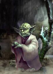 Yoda by cric