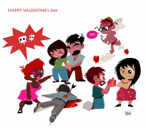 valentines day by gaafary