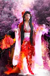 Sakura Princess by malawika