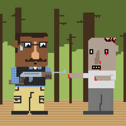 B.B. vs. Zombie by Q27
