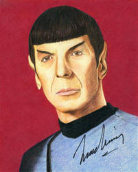 Star Trek - Spock by MikesStarArt