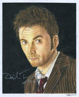 The 10th Doctor by MikesStarArt