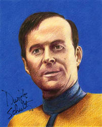 Star Trek - Reg Barclay by MikesStarArt