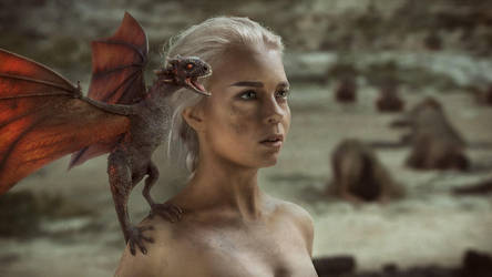 Daenerys Targaryen by AnnetVoronaya